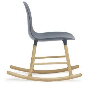 Form Rocking Chair, Blue-34963