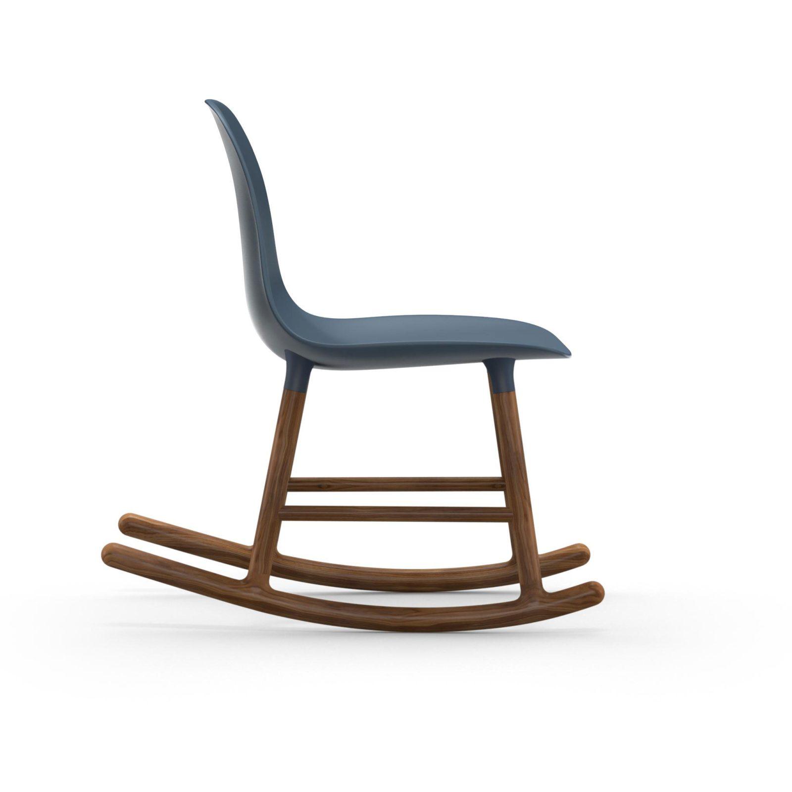 Form Rocking Chair, Blue-34967