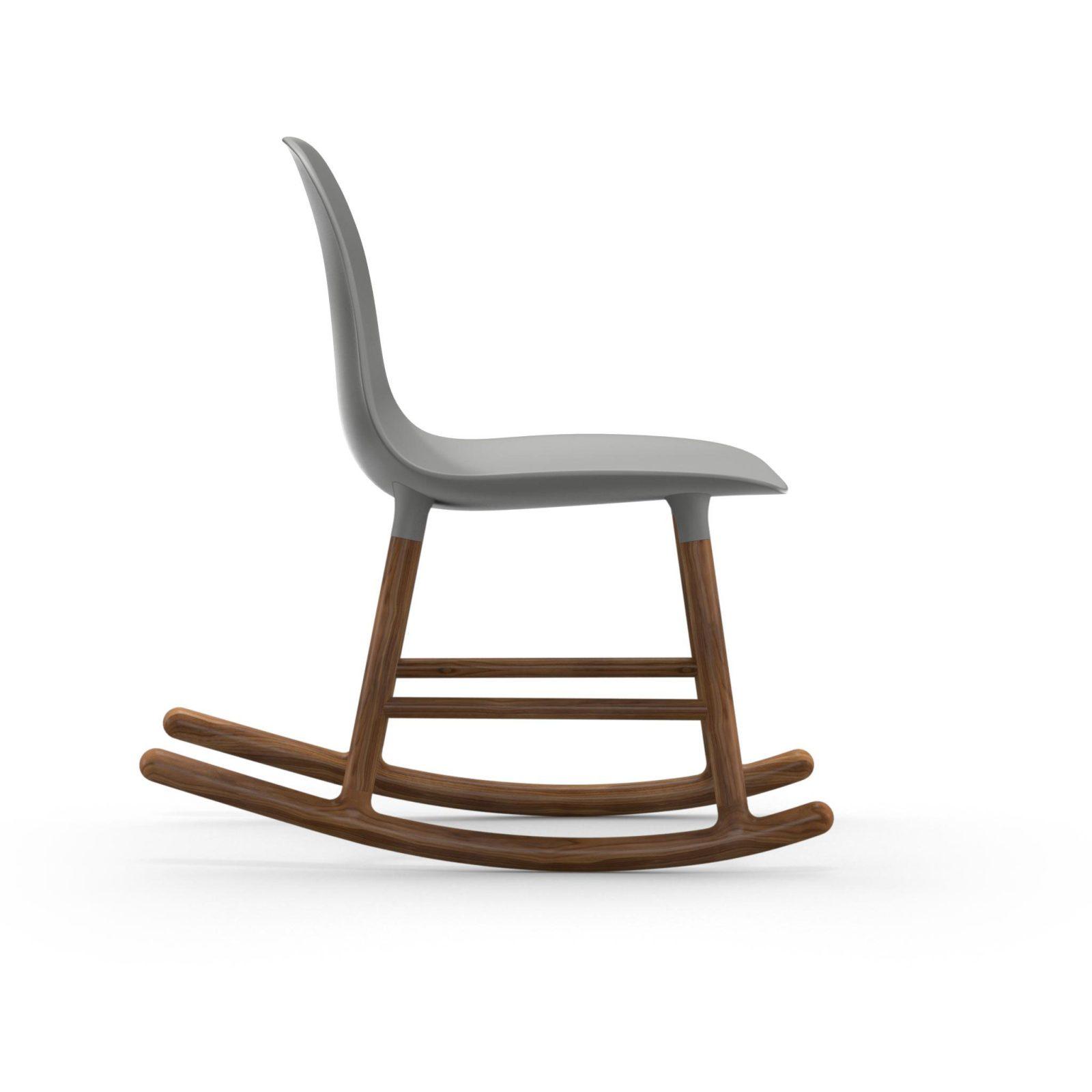 Form Rocking Chair, Grey-34979