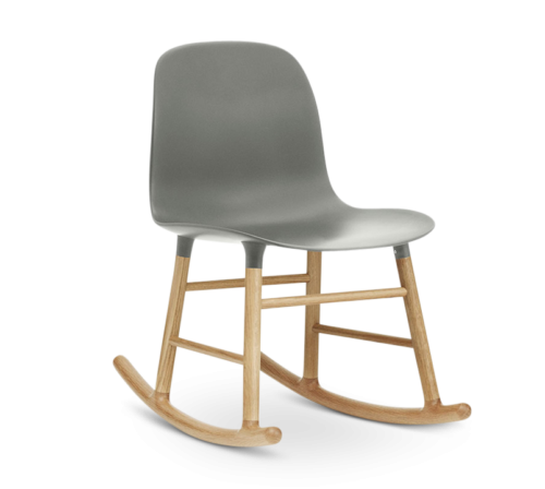 Form Rocking Chair, Grey-0