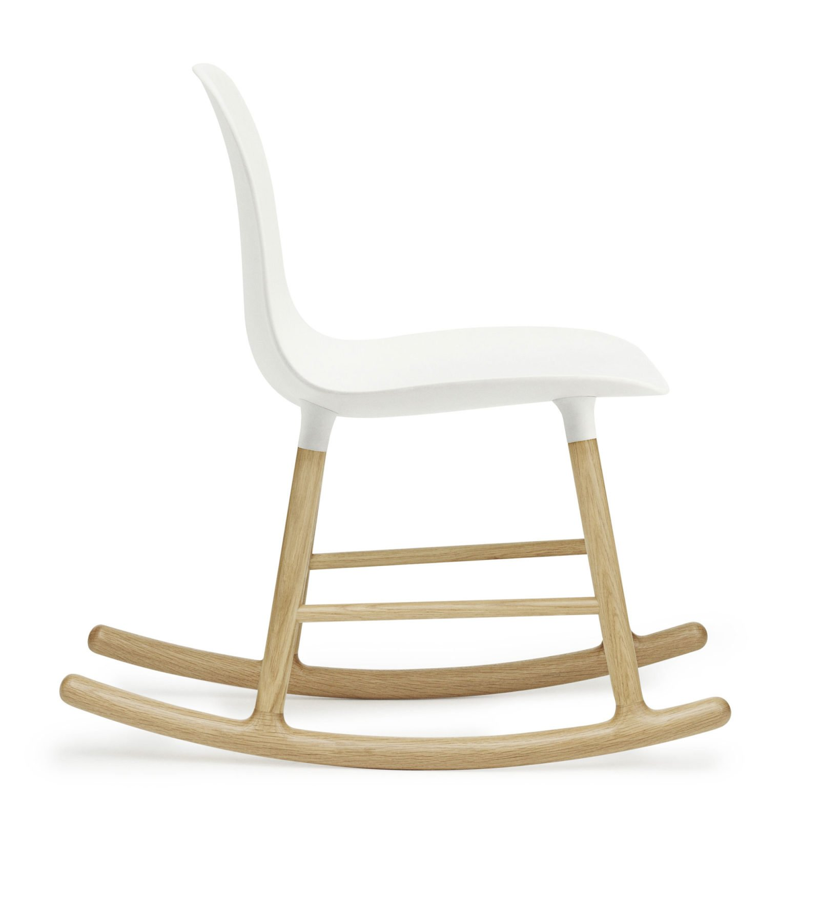Form Rocking Chair, White-34943