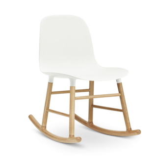 Form Rocking Chair, White-0