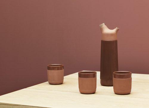 Junto Terracotta Water Carafe-34931