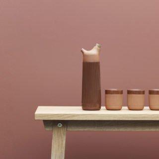 Junto Terracotta Water Carafe-34933