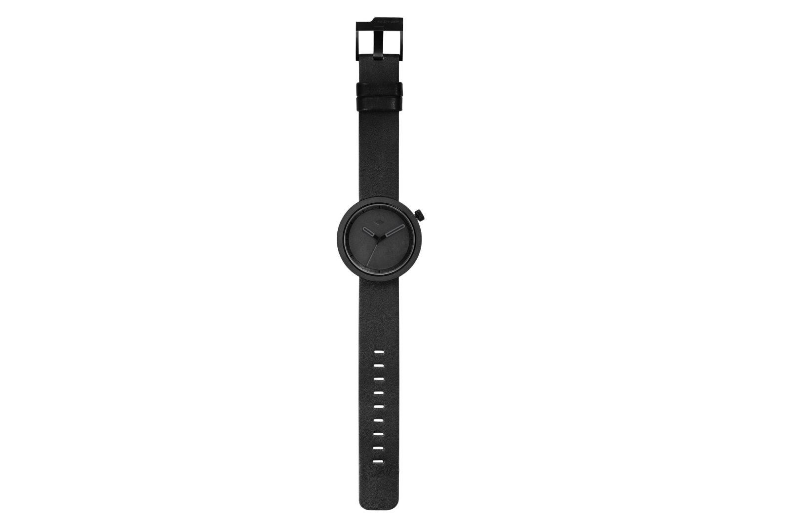 The Masonic Concrete Watch, Charcoal Black-34914