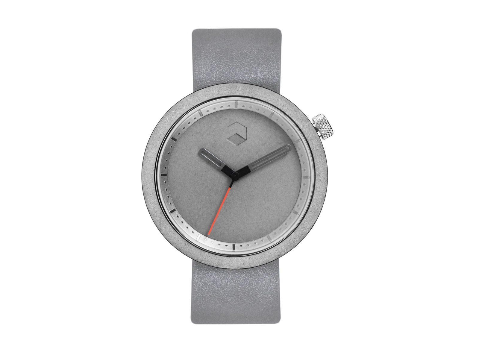 The Masonic Concrete Watch, Gravel Grey -34895