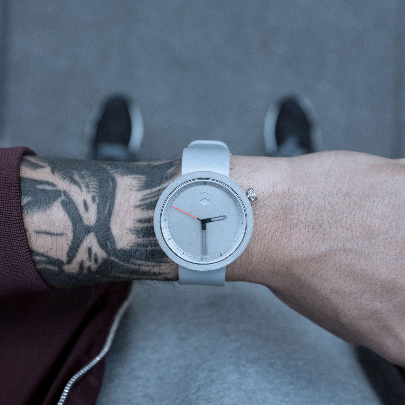 The Masonic Concrete Watch, Gravel Grey -34891