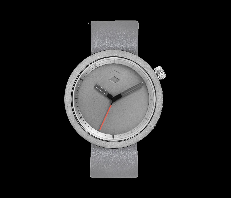 The Masonic Concrete Watch, Gravel Grey -0