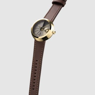 4D Concrete Automatic Watch - Signature Brass-35134