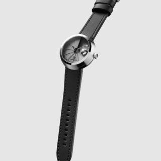 4D Concrete Automatic Watch - Signature Steel-35143
