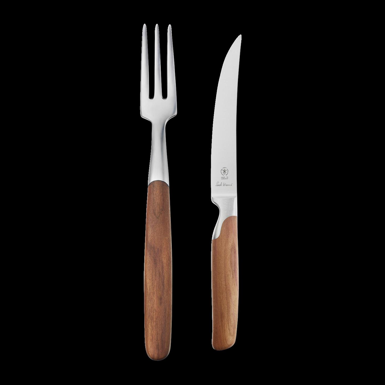 steak knife and fork set gessato. Black Bedroom Furniture Sets. Home Design Ideas