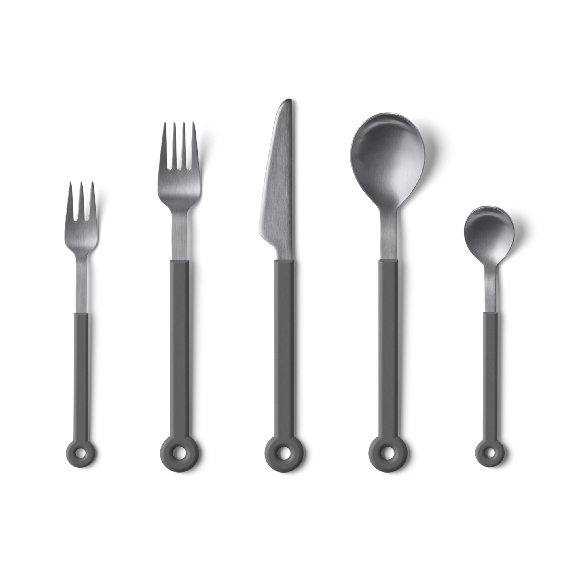 mono-ring-flatware-5-piece-set-grey-1