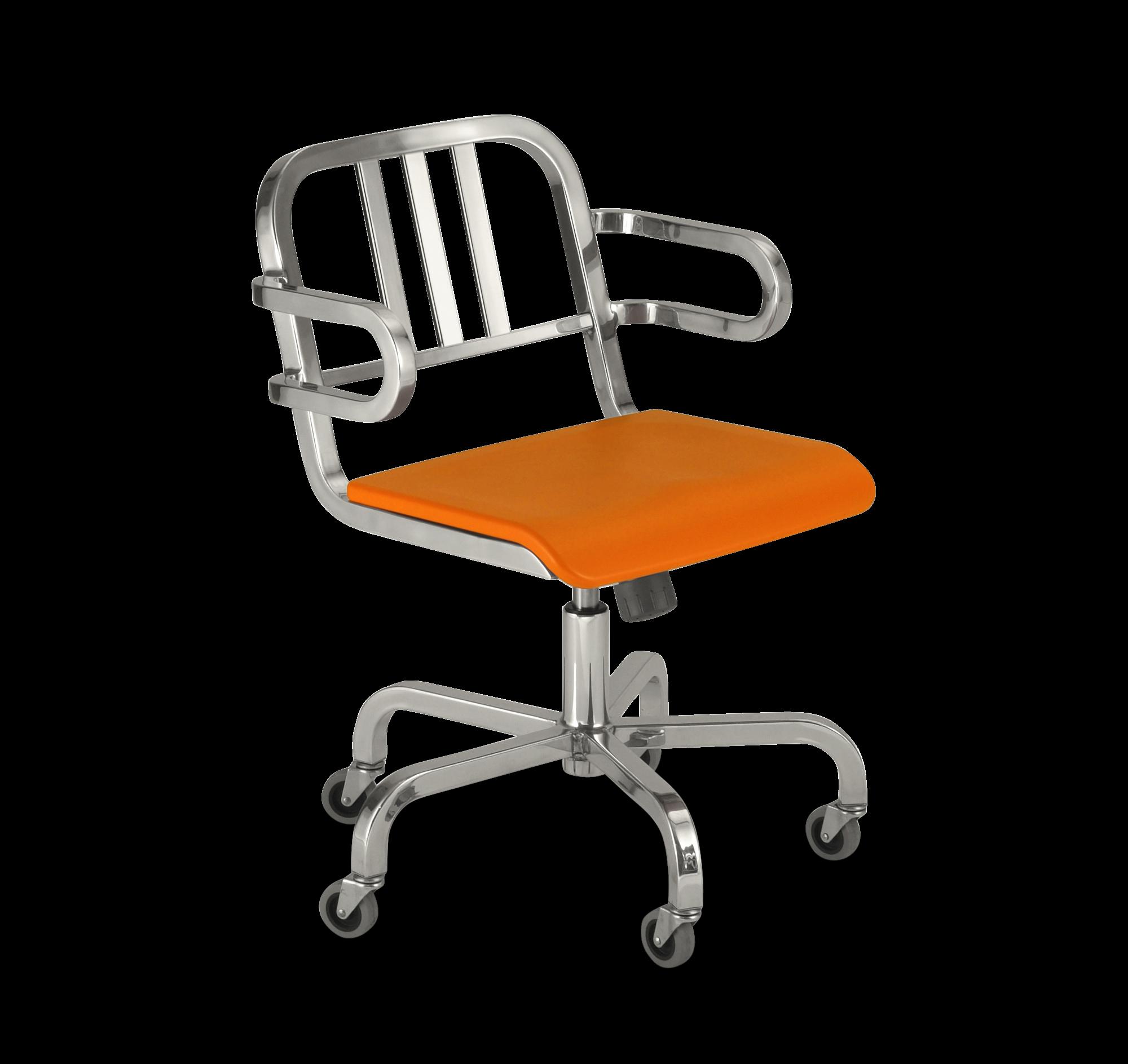 nine-0-swivel-armchair-orange