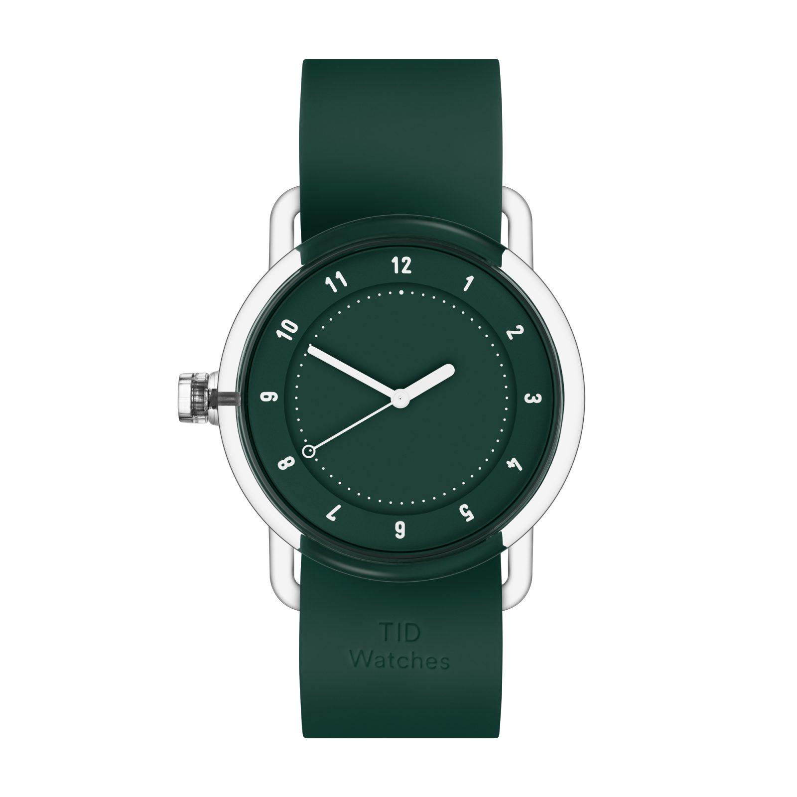 no-3-tr90-green-green-silicone-wristband