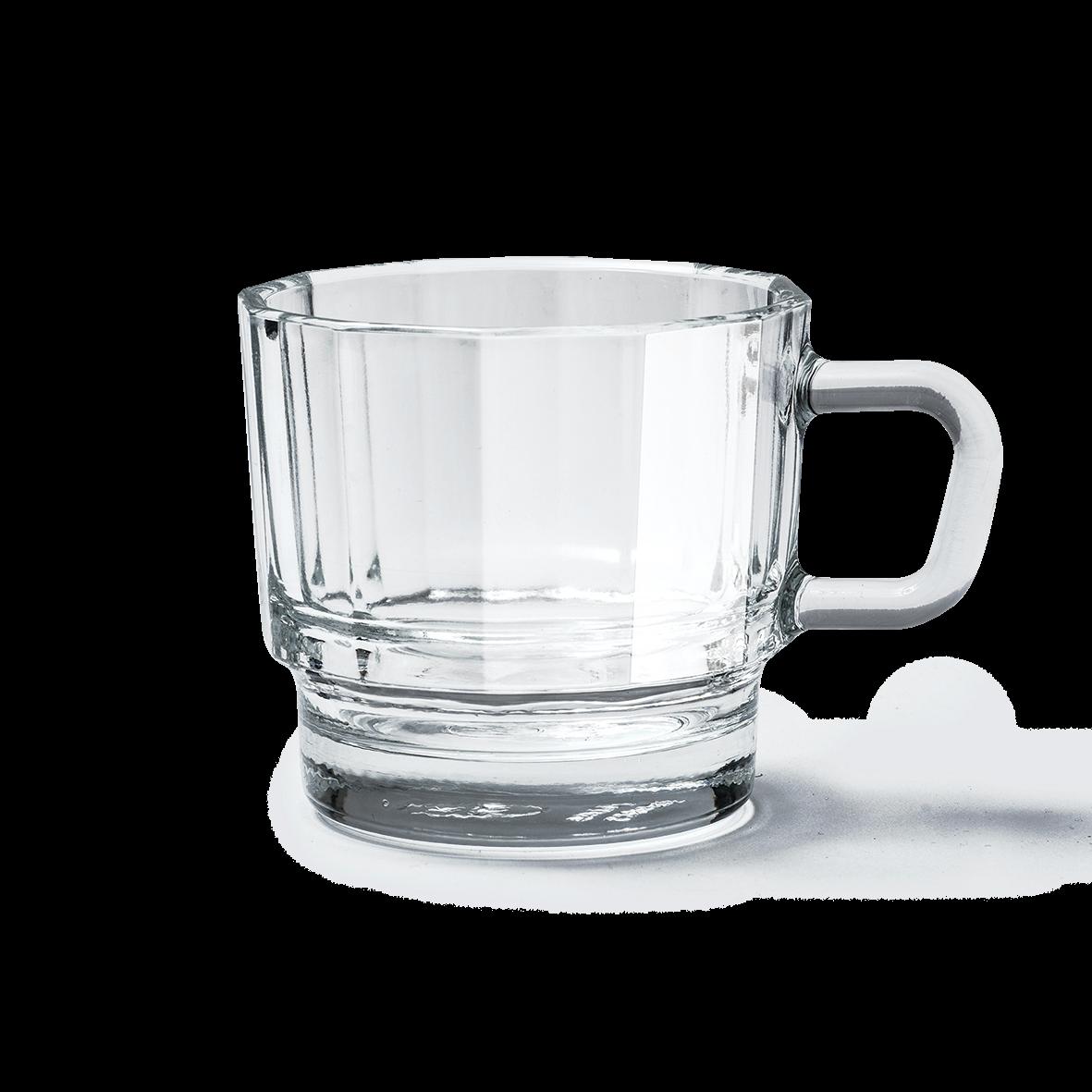 W Glass Coffee Cup Gessato Design Store